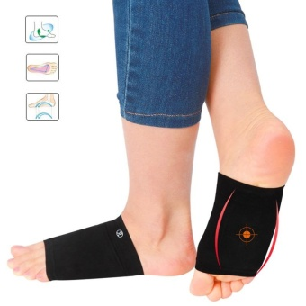 Heel Orthotic Plantar Fasciitis Arch Support Sleeve Cushion FootPain Relief - intl