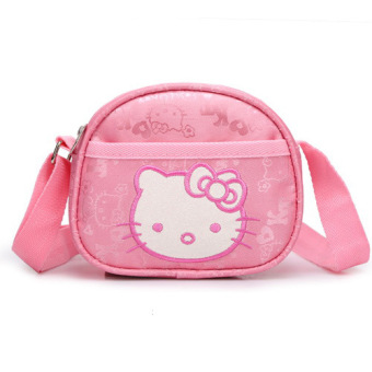 Hello Kitty cute cat head cute small bag school bag