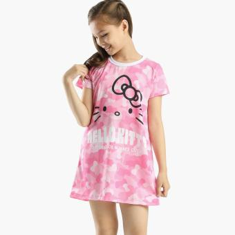 Hello Kitty Girls Shift Dress (Pink) Price Philippines