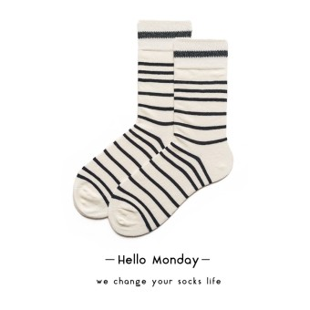 Hello monday2017 cotton men and women designer series tube socks couple's socks