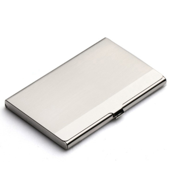 HengSong Business Cardcase Credit Card Holder Silver