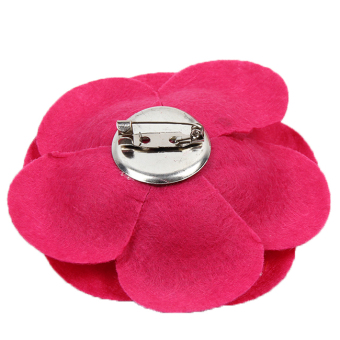 Hengsong Camellia Pin Brooches (Pink) - 3
