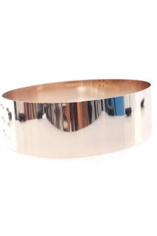 Hengsong Dress Metal Waist Mirror Belts for Gold