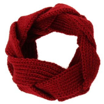 HengSong Hand-knit Headband (Red)