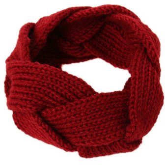 HengSong Hand-knit Headband (Red) - picture 2