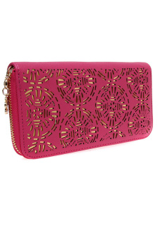 Hengsong Leather Purse (Rose)