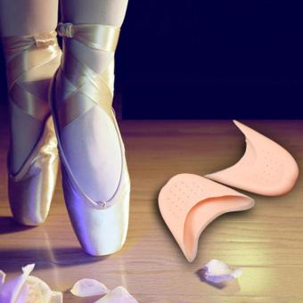 HengSong Pointe Ballet Dance Toe Cap Cover Pads Silicone GelProtector Shoes Foot Care Toe Pads(Nude) - intl
