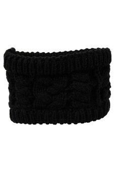 Hengsong Turban Knitted Hair Bands (Black)