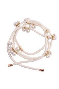 HengSong Waistband Girdle Belt for Waist Band White