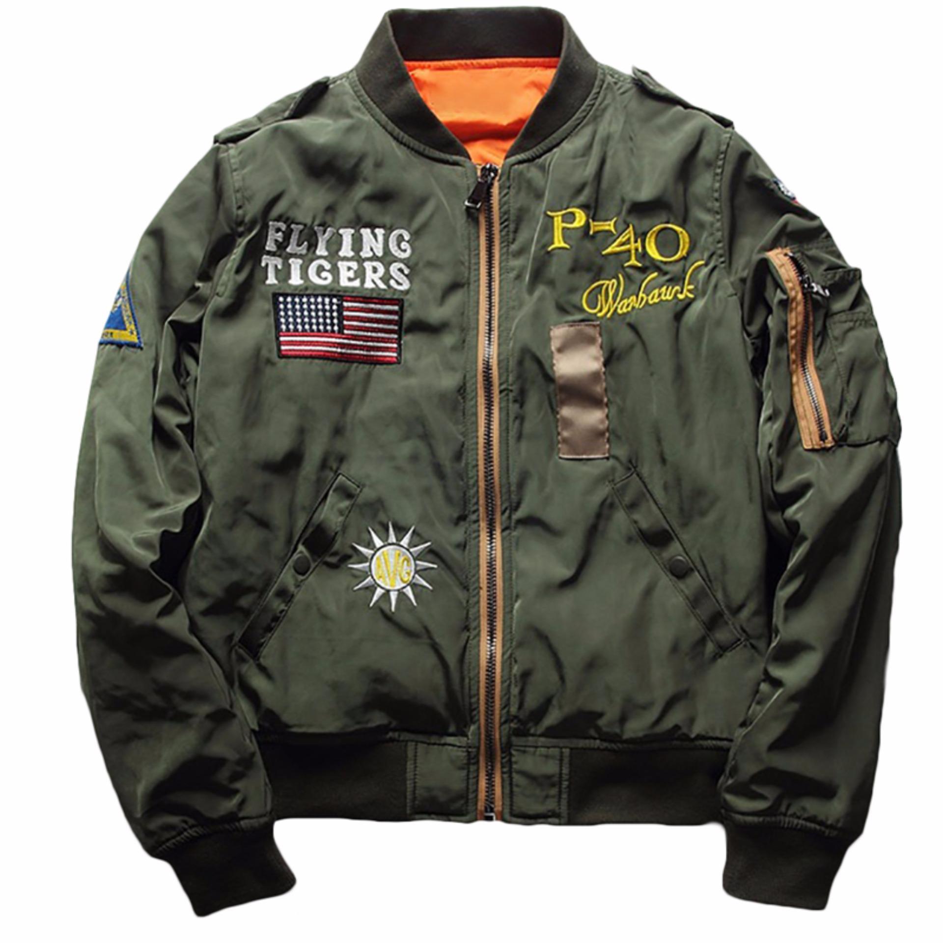 Hequ New Mens Jacket Coat Fashion Women Men s embroidery JacketsSlim Flight Jacket .