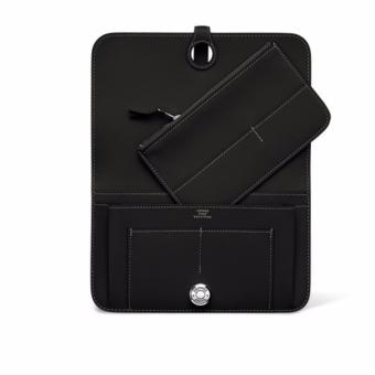 Hermes Dogon Togo Leather Combined Wallet (Black) Price Philippines