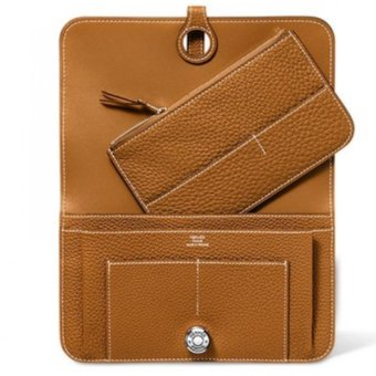 Hermes Dogon Togo Leather Combined Wallet (Tan) Price Philippines