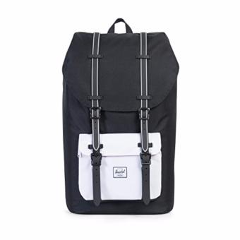 Herschel Little America Backpack Black/Black Rubber/White Insert25L Price Philippines