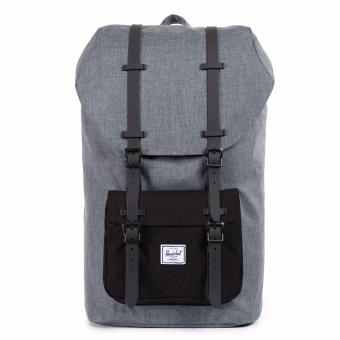 Herschel Little America Backpack Charcoal Crosshatch 25L