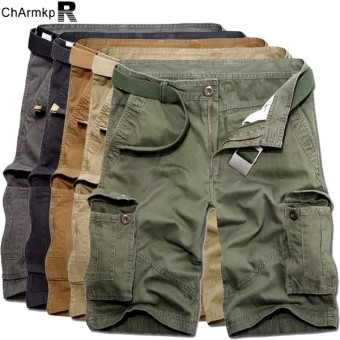 High Quality Fashion Mens New Sports Shorts Casual Printed Knee Length Gym Pockets Shorts Plus Size Charmkpr Mens Cargo Shorts - intl Price Philippines