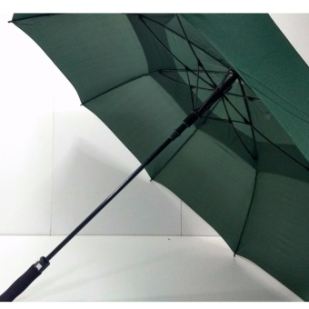 High quality Golf umbrella Windproof Automatic Umbrella(Army Green)