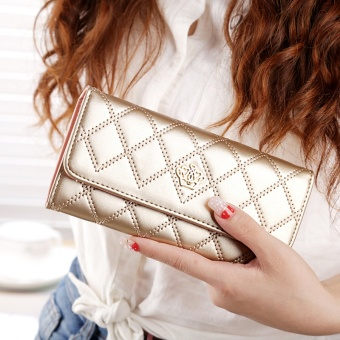 High Quality Lady Women Purse Clutch Wallet Long Card Holder BagBest Gift for Women - intl