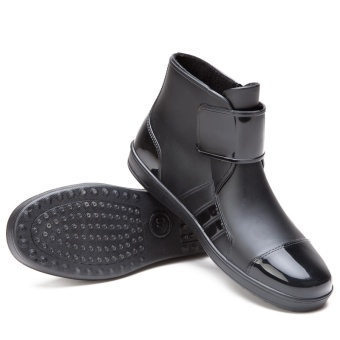 High quality Men Rain Boots Fashion Shoes Work Shoes WaterproofBoots - intl Price Philippines