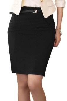 High Waist Skirts (Black)