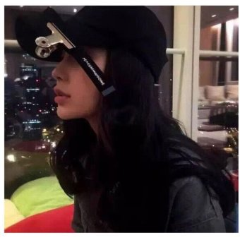 hip hop peaceminusone Gd unisex solid curved hats baseball cap menwomen snapback caps casquette gorras - intl - 3