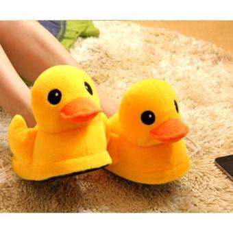 HOME SLIPPERS / COTTON / BATHROOM /GY01 DUCK (YELLOW) Price Philippines