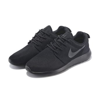Hot Sale Rosh Run Fashion Classic Lightweight Breathable Running Shoes Women Size 36-41 All Black - intl
