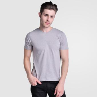 Huga Activewear Grey V-Neck Tee Price Philippines