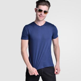 Huga Activewear Navy Blue V-Neck Tshirt Price Philippines