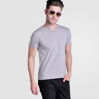 Huga V- Neck 2.0 Moroccan Tee (Grey) Price Philippines