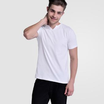 Huga V- Neck 2.0 Moroccan Tee (White) Price Philippines