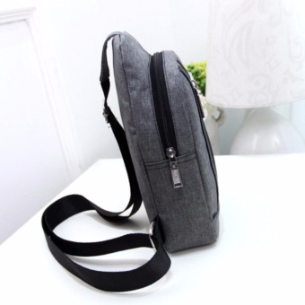 Hush Gecko Sling Bag for WoMen Men Chest Shoulder Gym Backpack Sack Satchel Outdoor Crossbody Pack(Black) - intl - 5