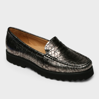 Hush Puppies Ladies Klarence Loafers (Gray) Price Philippines