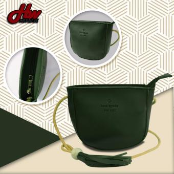 HW Kate Spade Mini Leather Sling Bag (Green)
