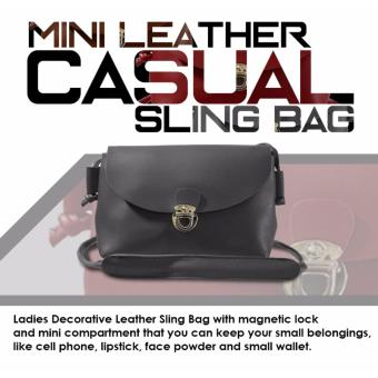 HW Mini Leather Casual Sling Bag (Ash)