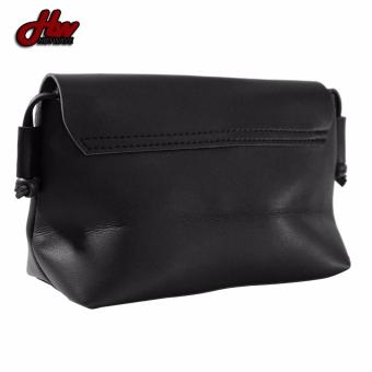 HW Mini Leather Casual Sling Bag (Black) - 4