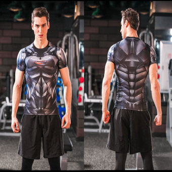 I fitness slim fit clothing (Batman vs. Superman)