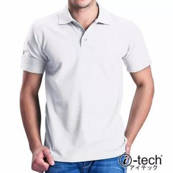 I-tech Blank Polo Shirt (White) Price Philippines