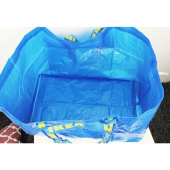 Ikea Frakta Sack Grocery Laundry Shopping Tote Bag - 3