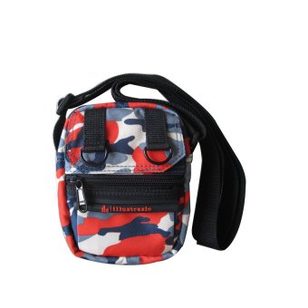 ILLUSTRAZIO Sling Bag (Slim Paint Red)