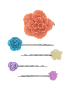 Patrick Lovebird Hair Pin Clip #101 Set of 5 (Multicolor) Price Philippines