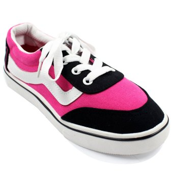 New York Sneakers Skater Shoes 001 (Black/Pink) Price Philippines