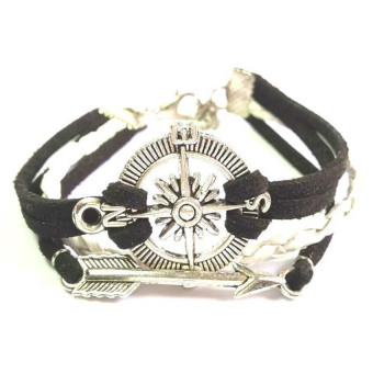 Fashub Traveler Compass and Arrow Armcandy Bracelet Price Philippines