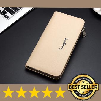 Authentic Korean - Baellerry Business Edition (multi-function large capacity) - Men's Wallet /Clutch - Beige Price Philippines