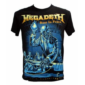 Megadeth - Rust in Peace T-shirt (nts) Price Philippines