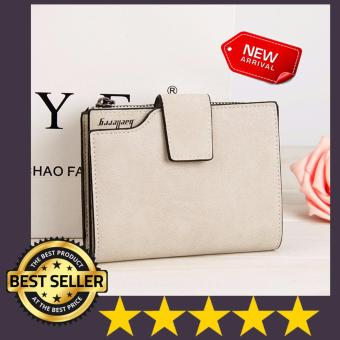 Authentic Baellerry Short Wallet (Multi Function Purse) BEIGE WHITE Price Philippines