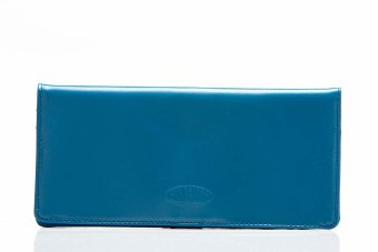 Big Skinny Leather Executive Wallet (Ocean Blue) Price Philippines