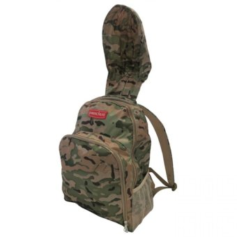 Parachute Rene Hooded Backpack (Army Fatigue) Price Philippines