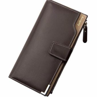 Baellery 1283 Multi-function Mens Wallet Soft Leather Clutch Purse (Coffee) Price Philippines