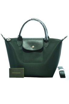 Harga Longchamp Le Pliage Neo Small Short-handle (Loden)