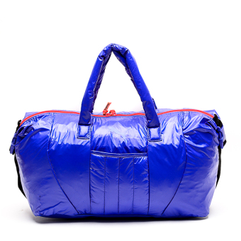 Harga Puma Fit AT Sports Duffle Bag (Royal Blue/Red Blast/Black)